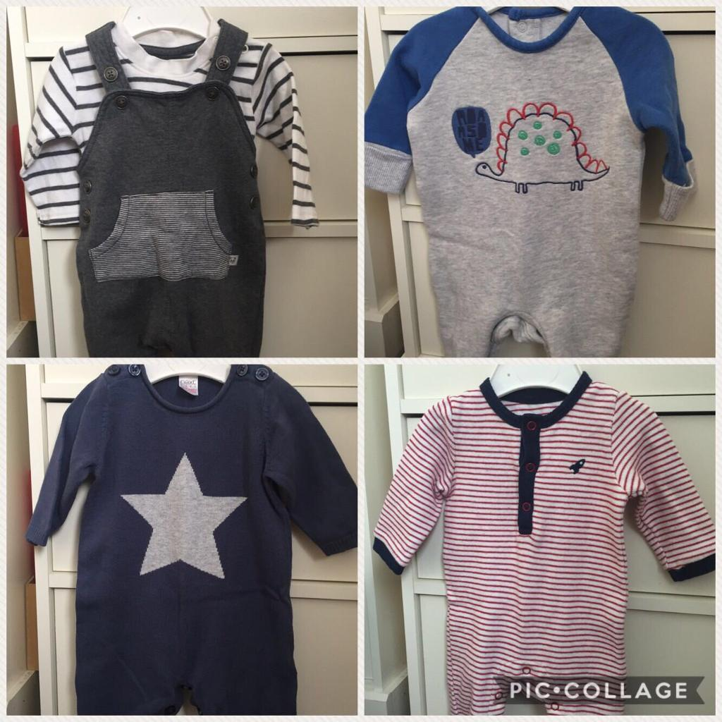 a46cdac2c2a7 BABY BOY CLOTHES BUNDLE. 0-3 months £20