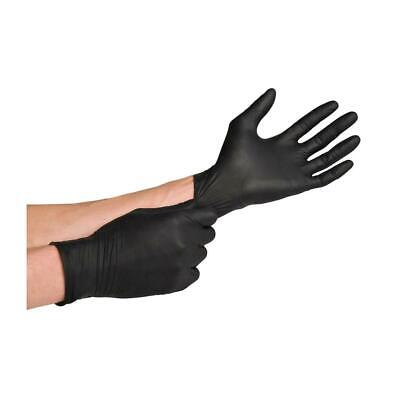 Black Nitrile Gloves Powder Free Gloves Pvc S M L Xl Available 50 100 200 Pcs