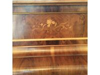 Beautiful family piano with piano stool - selling as downsizing