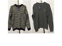 Mens polo ralph lauren jumpers 2 designs