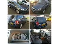 VAUXHALL ZAFIRA 58 PLATE 2008 PETROL MANUAL 7 SEATER CAN BE USED FOR MINICAB PCO QUICK SALE