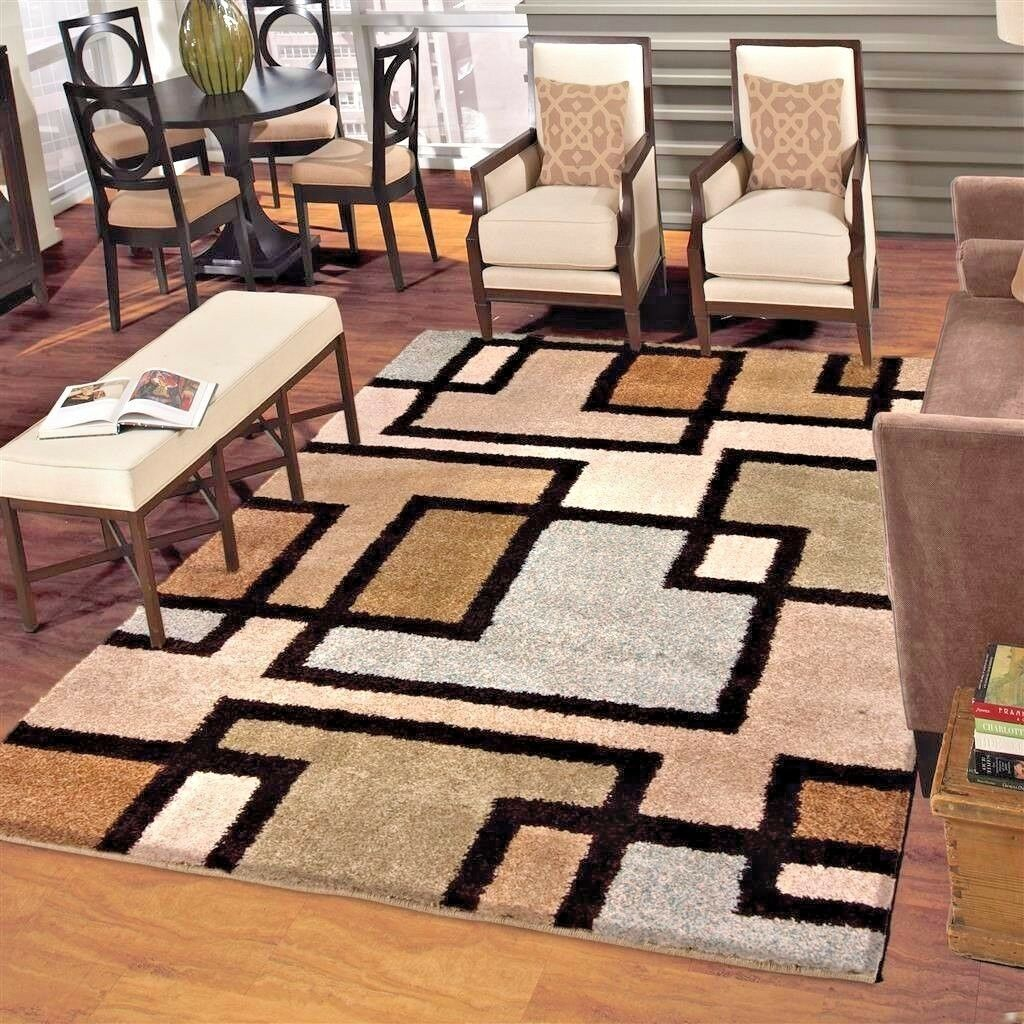 Details about RUGS AREA RUGS 8x10 RUG CARPETS LARGE LIVING ROOM BIG MODERN  BEDROOM FLOOR RUGS