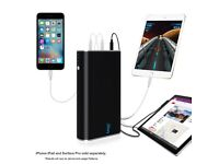 Lizone QC 24000mAh Portable Charger Battery Quick Charge for Mobile Phone, Microsoft Surface Devices