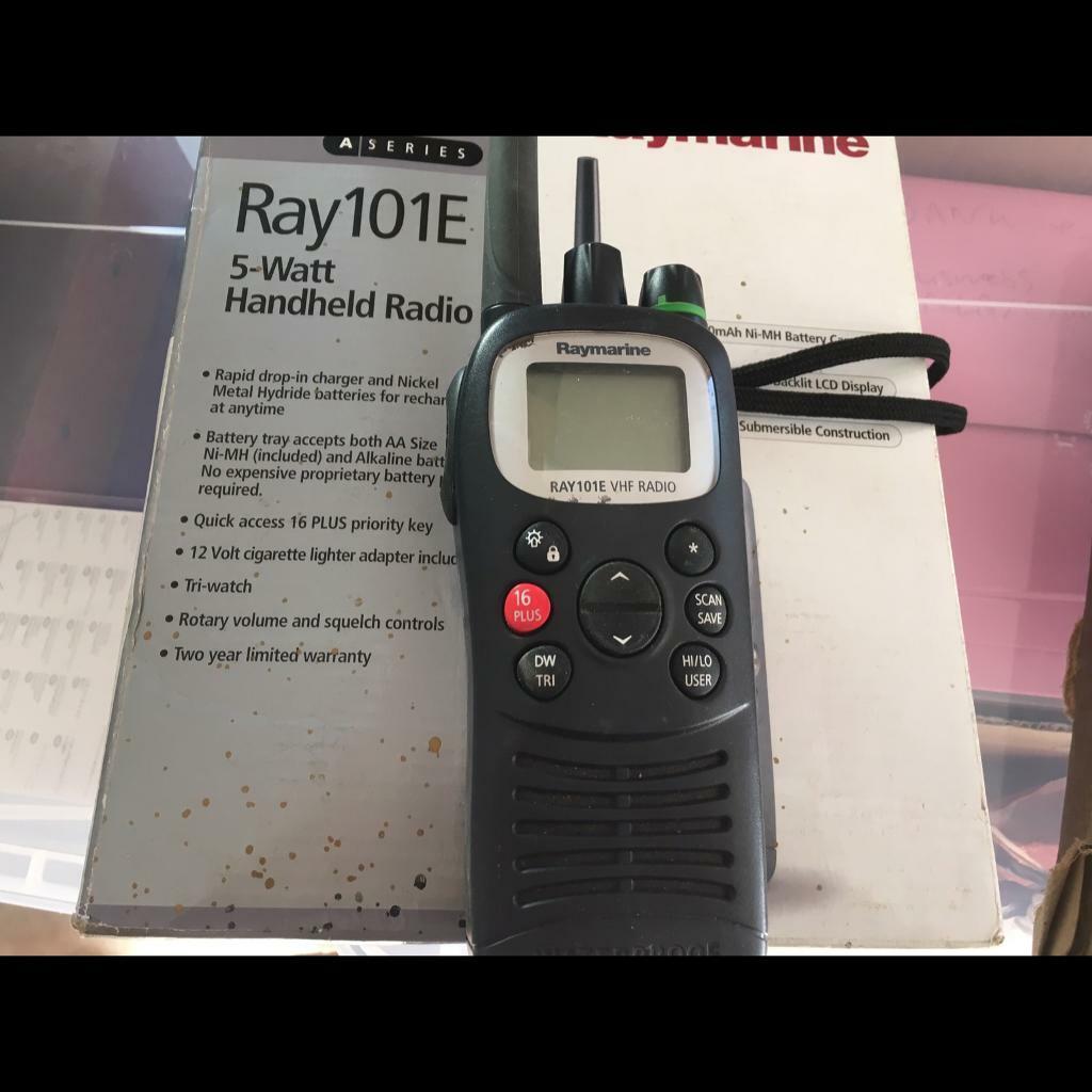 Raymarine Ray101 vhf handheld radio | in Paignton, Devon | Gumtree