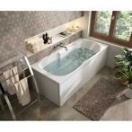 Allibert Ligbad Buleo Bubbelbad 170x75 cm (Whirlpool bad)