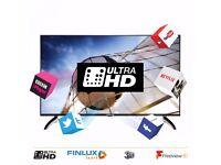 Finlux 43 Inch Ultra HD Smart 3D Netflix 4K LED TV Freeview HD (43UT3E310B-T) RRP £499.99