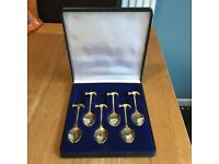 22 carat gold plated Go smash an egg spoon set