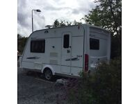 Elddis Avante Club 362 x2 berth caravan .