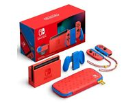 Nintendo Switch Console Mario Red & Blue Edition, Brand New SOLD OUT, Newly Released £400
