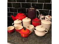Le creuset kettle/storage jars etc