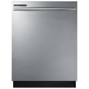 """Samsung 24"""" Built-In Dishwasher(DW80M2020US) - Stainless Steel"""