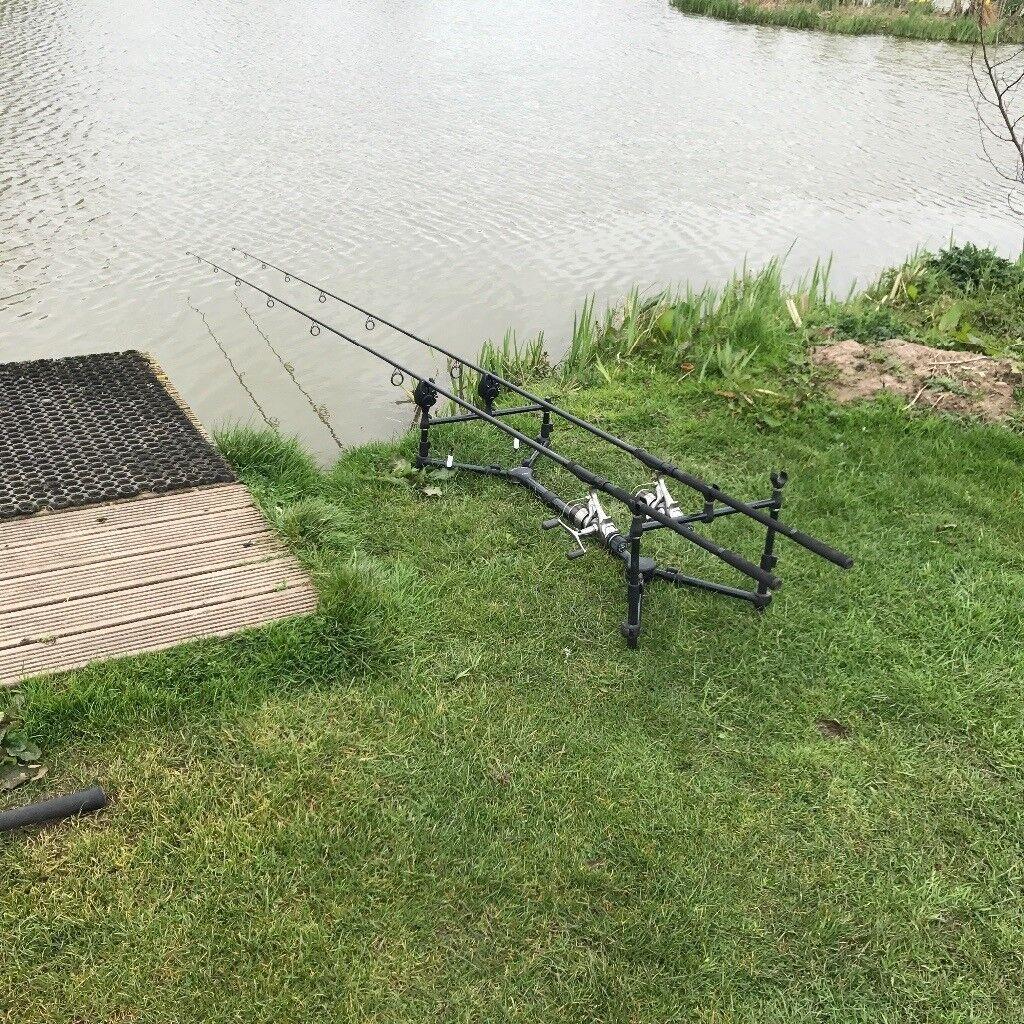 Carp Fishing Set Up