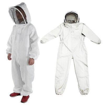 Sizel Beekeeper Full Body Protective Suit Bee Keeping Veil Hood Jacket