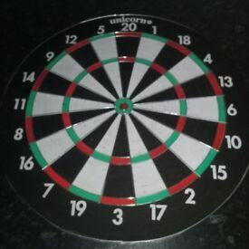 Darts Board and darts