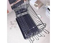 TWO TIER DISH DRAINER, NEW & BOXED