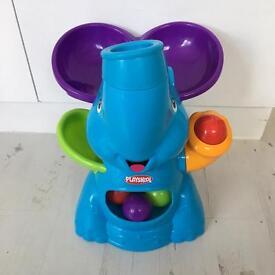 Playskool elefun ball popping elephant
