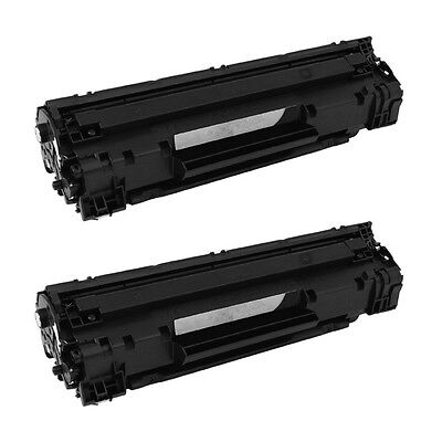 2PK Toner Cartridge CF283A 83A For HP Laserjet Pro MFP M127 fn fp fw Printer New