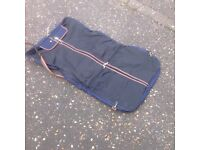 Suit or clothes holder - navy blue