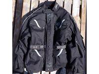 Buffalo motorcycle jacket and Akito trousers