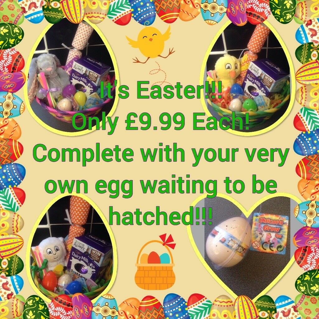 Easter gift basket complete with your very own egg waiting to be easter gift basket complete with your very own egg waiting to be hatched negle Image collections