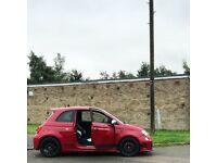 2010 Abarth 500 essesse - Sabelt buckets + Monza, Full service history with cambelt change