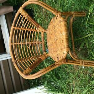 Child Size wicker chair