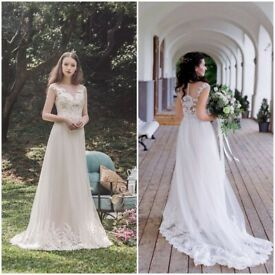 a2f222f4dbb Wedding dress Manon by Lusan Mandongus size 8-10