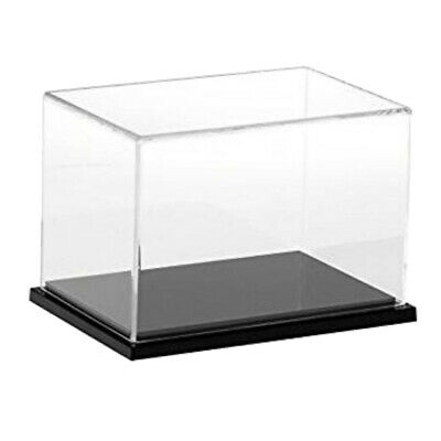 10121530cm Height Acrylic Display Case Dustproof Box Cube For Jewelry Show