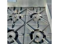 BLUE SEAL COMMERCIAL LPG GAS OVEN WITH HOT PLATE