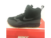 Nike Wmns Air Max 1 Mid Sneakerboot, Size UK 5