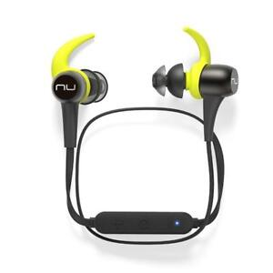 NEW Optoma NuForce BE Sport3 Wireless Bluetooth In-Ear Headphones for Sports, Gunmetal