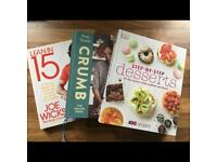 Baking and cooking books