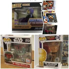 Funko Pop Exclusives Bundle