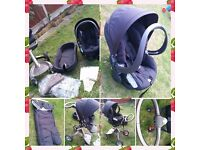 Stokke Xplory (Navy) Travel system.In good  condition.