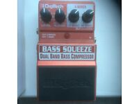 Bass Squeeze Compressor Effects pedal