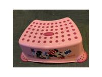 FREE Minnie mouse pink childs stool