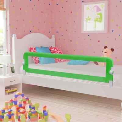 vidaXL Barandilla de Seguridad Cama de Niño Poliéster 180x42 cm Verde Casa