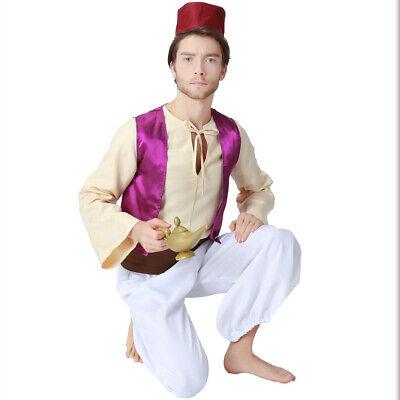 Männer arabische arabische Prinz Kostüm Halloween Märchen Cosplay - Arabische Kostüm Männer