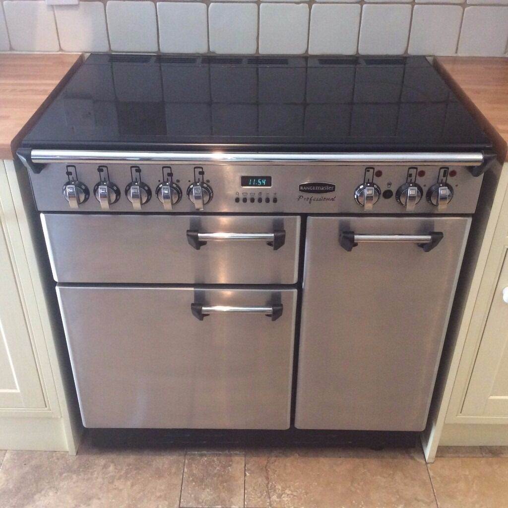Professional Electric Ranges For The Home Rangemaster Professional Electric Range Cooker 90cm In Excellent