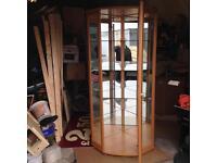 Corner cabinet (glass)