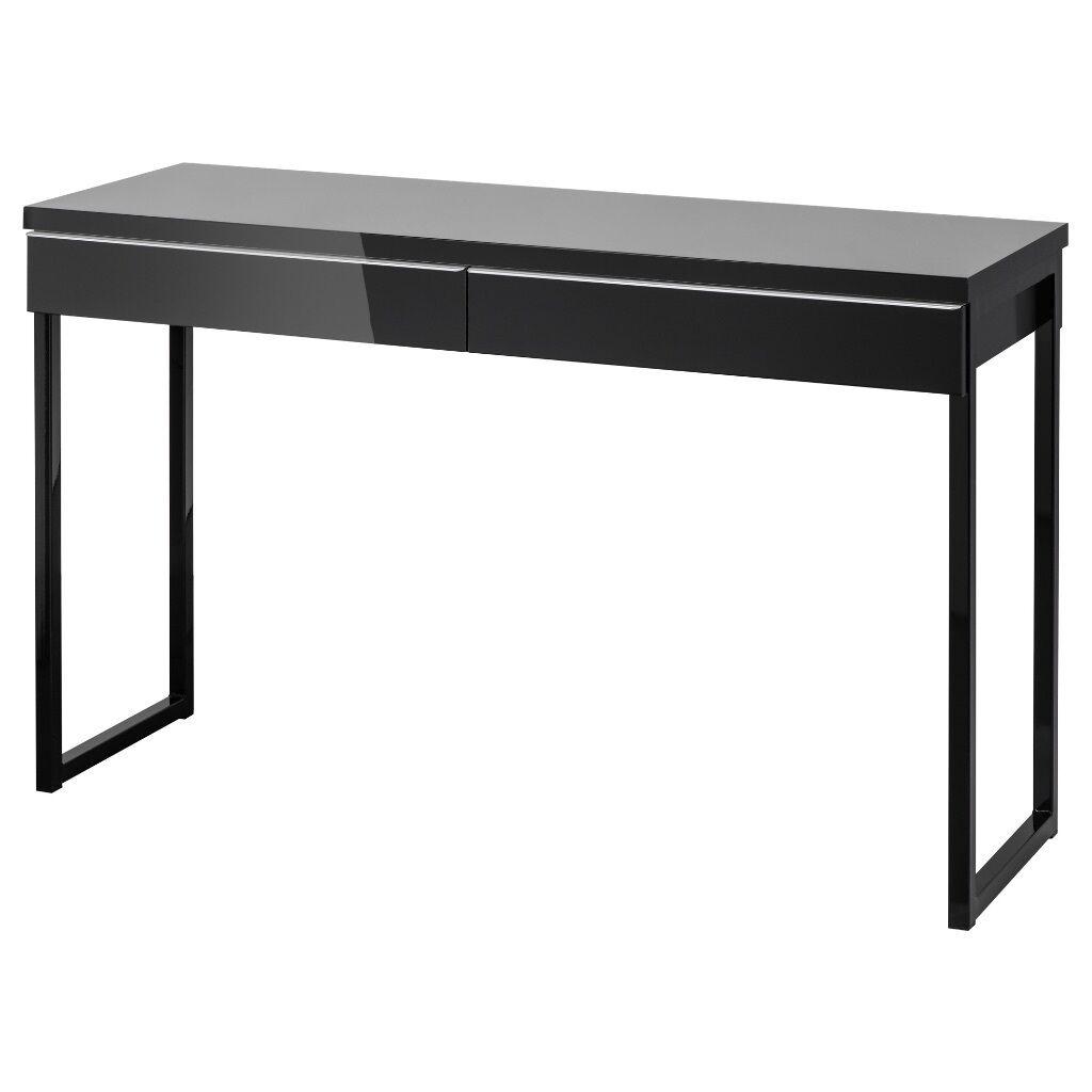IKEA Besta Burs Black Desk
