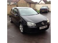 2004/04 mk5 Volkswagen Golf 1.6 fsi se with history