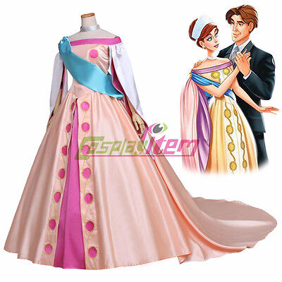 Princess Anastasia Fancy Cosplay Dress Princess Cosplay Costume For Adult Women  - Princesses Costumes For Adults
