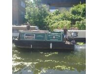 A beautiful compact canal/ narrow boat
