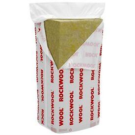 Rockwool RW3 Acoustic Insulation Slabs Loft Insulation Slab 30mm 50mm 75mm 100mm