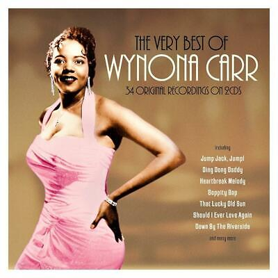 WYNONA CARR - THE VERY BEST OF - 34 ORIGINAL RECORDINGS (NEW SEALED 2CD