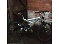 26inch mountain bike/needs new back wheel