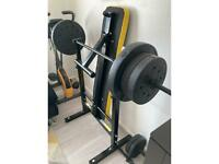 Weight bench and exercise bike