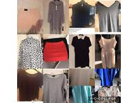 Woman's bundle of clothing - worth over £100