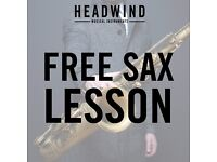 FREE Saxophone taster classes